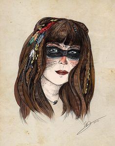Autoportrait by Sandra Dieckmann Sandra Dieckmann, Golden Age, Nice Dresses, Illustration Art, Drawings, Classic, June, Self Portraits, Derby