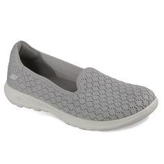 ed06a8e03a6 Skechers GOwalk Lite Daisy Women s Sneakers