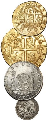 treasure bars atocha 1715 fleet gold and silver ingots pirate