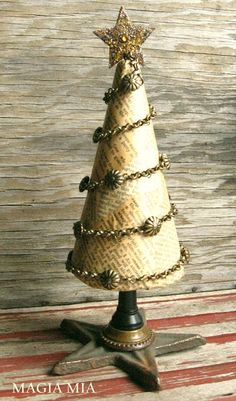DIY Christmas Tree ~ miscellaneous objects