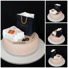 Shopping bags - Cake by luna