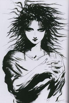 yoshitaka amano Home Trends home improvement marketing trends Manga Anime, Manga Art, Japanese Prints, Japanese Art, Morpheus Sandman, Yoshitaka Amano, Final Fantasy Art, Ap Studio Art, Shizuoka
