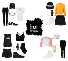 1MILLION DANCE STUDIO #6 by kariina-sykes on Polyvore featuring moda, Gosha Rubchinskiy, American Apparel, WearAll, Boohoo, River Island, Miss Selfridge, Wolford, Erika Cavallini Semi-Couture and Vans