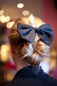 Buns and bows