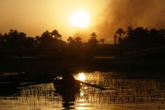 Sunset Over the Nile. Photo by Vyacheslav Argenberg in 2007 (Flickr)