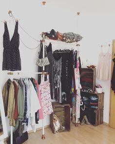 Meine DIY Kleiderstange - Industrial, Vintage, Kupfer