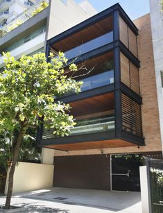 My new house - Edificio Alvar Aalto / Laclau + Borelli Arquitectos Asociados Alvar Aalto, Modern Architecture House, Facade Architecture, Residential Architecture, Arch House, Design Exterior, Facade Design, House Design, Building Facade