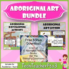 Aboriginal Art Bundle: Symbols, Flip Book, Lesson Ideas, Information Slides Aboriginal Symbols, Aboriginal Education, Aboriginal Art, Australian Curriculum, Primary Classroom, Classroom Displays, Dot Painting, Art Studies, My Teacher