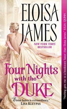 Four Nights With the Duke by Eloisa James ***Pandora*** 2/20 ARCTIC WeekEnd!!
