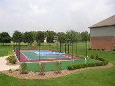 tennis basketball court - Google Search