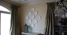Hanging a plate wall