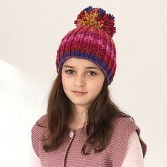 This hat rocks! Developed together with my daughter I am thrilled. Knitted in just a few hours the quality lasts for a long time and is absolutely unique. Each Noro ball tells its own color story. Try it out!