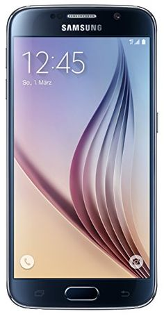 Samsung G920F Galaxy S6 GSM 4G LTE Octa-Core Smartphone 32GB - Sapphire Black >>> See this great product.