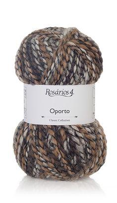 Yarn: Oporto. Composition: 38% Wool + 10% Alpaca + 52% Acrylic Needles: 5 - 5 1/2 (USA 8-9) Weight: 100 g = 155 m   3.50 oz = 170 yds