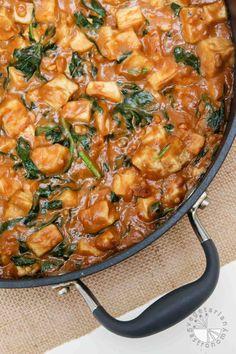 Pra Ram Tofu with Easy Thai Peanut Sauce! #vegan #glutenfree | vegetariangastronomy.com