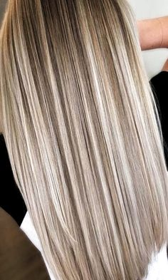 43 Amazing Fall Hair Color Ideas For Blondes To Try Now Awesome . - 43 Amazing Fall Hair Color Ideas For Blondes To Try Now Awesome 43 Amazing Fall Hai - Blonde Hair Looks, Ash Blonde Hair, Asians With Blonde Hair, Blonde Hair Lowlights, Highlighted Blonde Hair, Summer Blonde Hair, Curly Blonde, Hair Color Highlights, Blonde Color