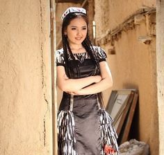 A Turkmen girl