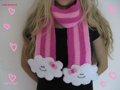 the cutest cloud scarf ever