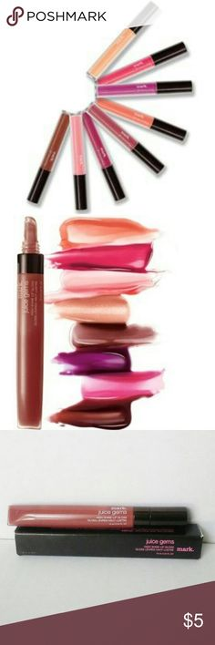 mark. Juice Gems High Shine Lip Gloss High shine lip gloss that leaves lips feeling moisturized and conditioned.  This color is Apple Spice. Avon Makeup Lip Balm & Gloss