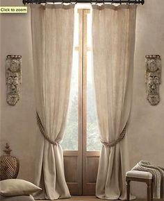 Bekijk de foto van ElineM met als titel mooie linnen gordijnen voor in woonkamer en andere inspirerende plaatjes op Welke.nl.