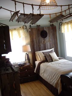This room has cute ideas