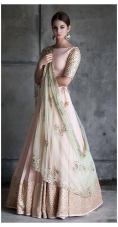 Party Wear Indian Dresses, Indian Gowns Dresses, Indian Bridal Outfits, Indian Bridal Wear, Dress Indian Style, Indian Fashion Dresses, Indian Designer Outfits, Party Wear Lehenga, Bridal Anarkali Suits