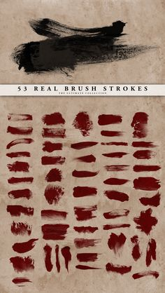 """15 Free High Quality Photoshop Brushes Seen here is """"Real Brush Strokes"""" Set by ~doodle-lee-doo on deviantART make up brushes set 15 Free High Quality Photoshop Brushes from 2012 Brush Stroke Photoshop, Actions Photoshop, Brush Stroke Tattoo, Free Photoshop, Photoshop Brushes, Photoshop Design, Photoshop Elements, Photoshop Tutorial, Photoshop Face"""