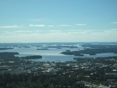 Puijo, Kuopio, Finland Airplane View, Norway, Sweden, River, Vacation, Outdoor, Beautiful, Finland, Outdoors