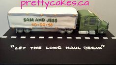 Grooms Cake for a Truck Driver!