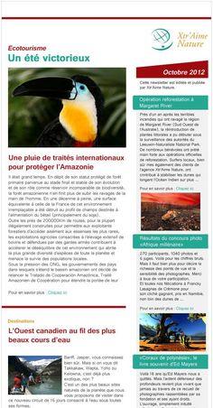 Exemple de newsletter PR Rooms