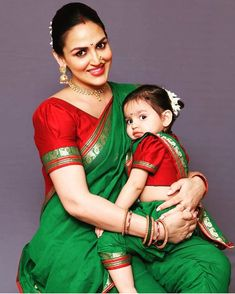 Esha Deol & Radhya are cuteness personified! Come, embrace the 'Twinning with Mom' trend at MamaMea on - June at JW Marriott, Chandigarh. — at JW Marriott Hotel Chandigarh. Mom Daughter Matching Dresses, Mom And Baby Dresses, Girls Dresses, Mother Daughter Fashion, Baby Girl Images, Indian Beauty Saree, Beautiful Indian Actress, Lehenga, Sarees