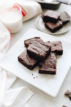 Swap out the flour in these ultimate grain-free brownies! Made with almond flour and ghee, these paleo brownies are a delicious dessert that is both nutritious and good for your soul!