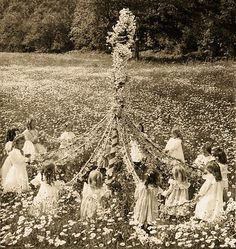 Feast of Beltane  Long ago, Celts celebrated Beltane, which was a calendar feast that welcomed summer. Bonfires figured largely into this celebration, and some activities included dancing around the fire, burning effigies of witches(?), and herding cattle in between bonfires. Fire was seen as a purifying source. In recent years, neopagans have begun to celebrate Beltane once more.