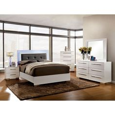 Furniture Of America Clementine 4 Piece Bedroom Set Las Vegas Furniture Online Lasvegasfurnitureonline Lasvegasfurnitureonline