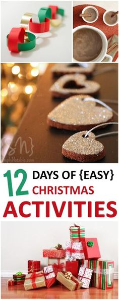 12 totally easy Christmas activities to try this holiday season!