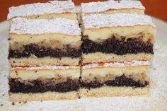 Jablkovo-makový koláč