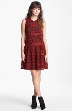Betsey Johnson Dresses | lace betsey johnson drop waist lace dress for women betsey johnson ...