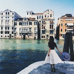 Venice is always a good choice.  // traveling inspiration week  #travel #travelblogger #adventure #wanderlust #venice #europe #italy #outfit #city #citiesoftheworld #fashion #lifestyle #instatravel #l4l #followme #lifestyleblogger #inspiration #love #amazing by carefreespiritt