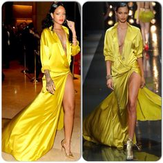 MYROYALS &HOLLYWOOD FASHİON: Rihanna in Alexandre Vauthier Couture – Clive Davis' Pre-Grammy Party