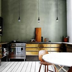 @interiorcurator - Love a glamorous kitchen! - EnjoyGram