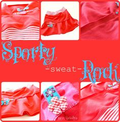 female favorite: DIY SPORTY sweat ROCK