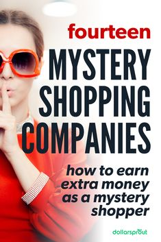 Applying for (and getting) a legit mystery shopper job is an easy way to make extra money. Here's a list of the 15 best mystery shopping companies around. Secret Shopper Jobs, Extra Money Jobs, Legitimate Online Jobs, Mystery Shopper, Best Mysteries, Making Extra Cash, Earn Money Online, Earning Money, Make Money Fast