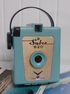 RARE 1950s Aqua TURQUOISE Sabre 620 Bakelite
