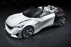 Peugeot Fractal Concept Shows off 3D Printing, Electric Powertrain