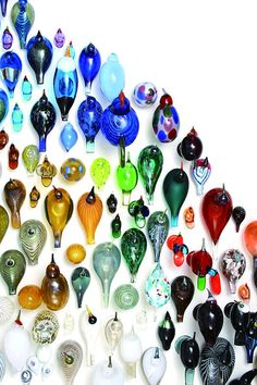 via Stunning glass birds and owls by internationally renowned Finnish artist Oiv.