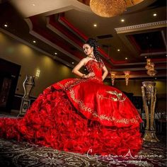 Find More Quinceanera Dresses Information about Romantic Luxury Golden Embroidery Quinceanera Dresses Sweetheart Gold And Red Ball Gowns Vestidos De 15 Anos Sweet 16 Dresses,High Quality dress middleton,China gown jacket Suppliers, Cheap dress caftan from Queens' Dreaming Dresses on Aliexpress.com