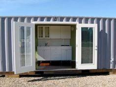 Off-grid container cabins from $15K! - The place to be in a hurricane I would say... -   -  To connect with us, and our community of people from Australia and around the world, learning how to live large in small places, visit us at www.Facebook.com/TinyHousesAustralia