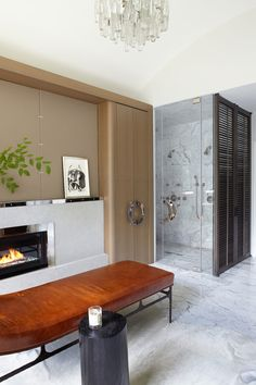 Westchester Residence  Bath  Modern  Transitional by Neal Beckstedt Studio