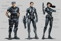 Sci-Fi Spacecraft character concept art | Comics in Movies and Beyond: where 2D becomes 3D on its way to 4D