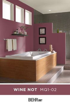 Find some new colors for your Western style décor in this inspirational paint color gallery here on Colorfully BEHR. Behr Paint Colors, Paint Colors For Home, Room Colors, House Colors, Green Wall Color, Modern Master Bathroom, Red Rooms, Diy Home Decor Projects, House Painting
